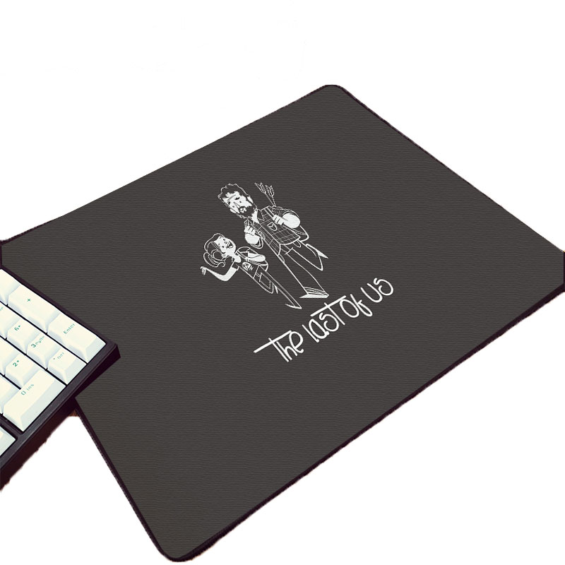 Mairuige The Last Us Hot Game Pattern Printed Mousepad Pc Computer Gaming Table Mat For Decoration Desktop Improve Mouse Speed