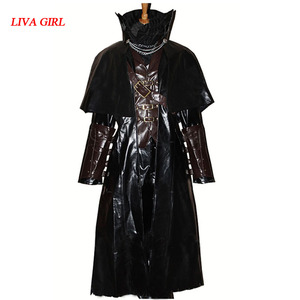 Bloodborne Cloak Coat Vest Shirt Outfit WholeSet For Men Game Halloween Cosplay Costume Custom Made New Arrival