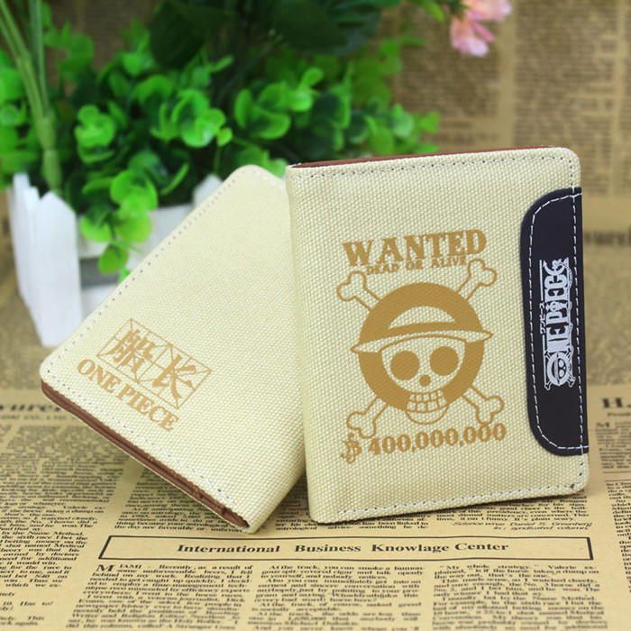 Anime One Piece Cosplay Cartoon wallets men and women canvas wallet student children birthday gift 5 pcs lot cartoon anime wallet wholesale nintendo game pocket monster charizard pikachu wallet poke wallet pokemon go billetera