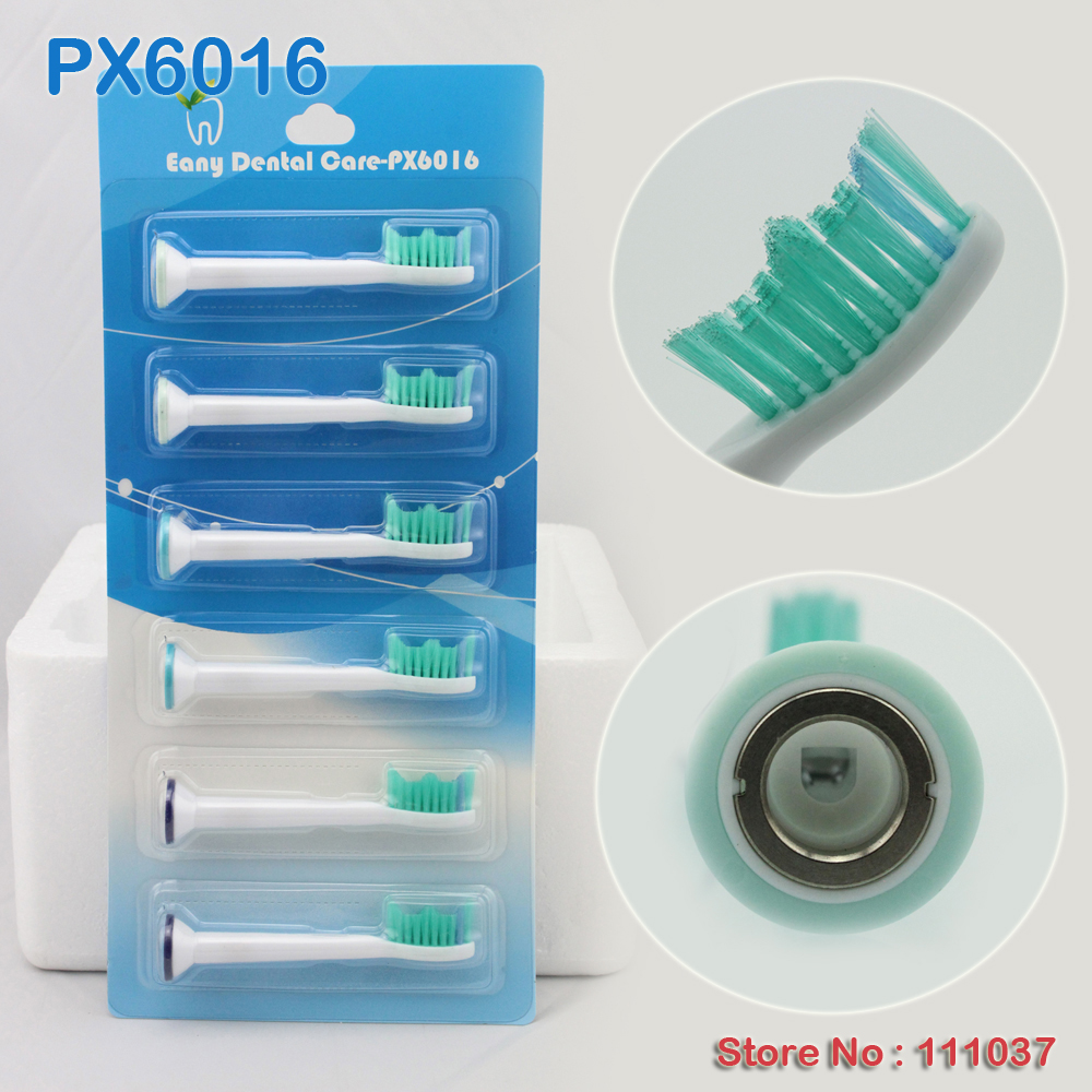 Proresults Sonic PX6016 Replacement Toothbrush Heads 1200pcs Lot Free Shipping