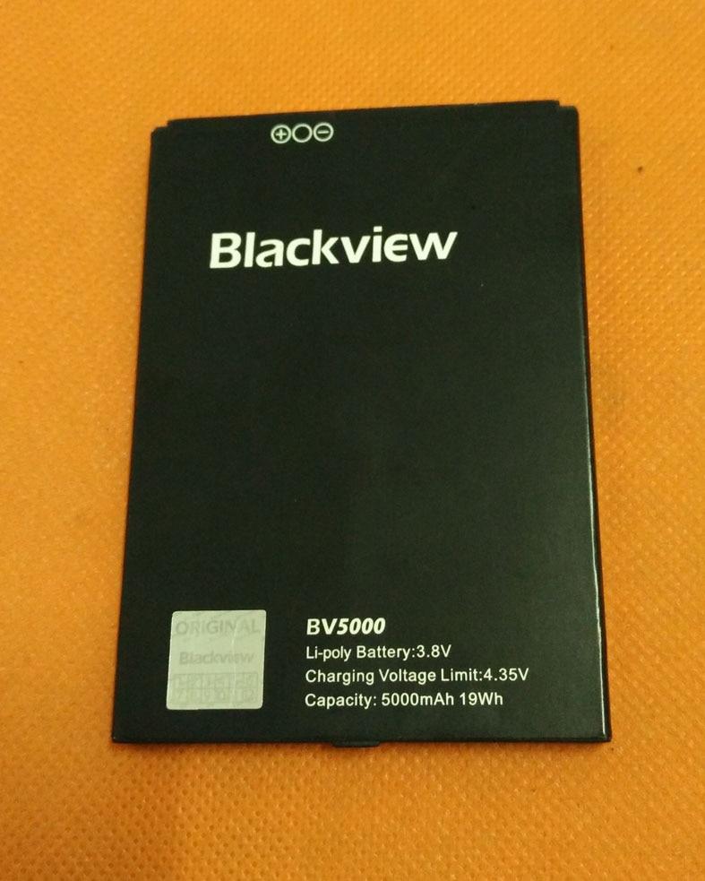 original battery Batterie Batterij Bateria 5000mAh for Blackview BV5000 MTK6735 Quad Core 5.0 HD 1280x720