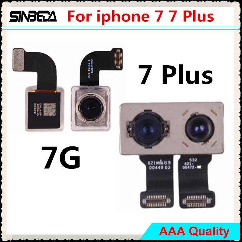 Sinbeda Guarantee Back Rear Camera For iPhone 7G 7 Plus Back Camera and Big Camera With Flash Module Sensor Flex Cable Ribbon|Mobile Phone Flex Cables|Cellphones & Telecommunications - title=