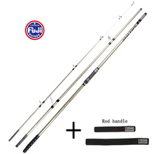 4.2M Up To 250g Partial Fuji Accessories Sand Gold Color high Carbon SURF Rod Distance Throwing Rod Anchor Hook Casting lure Rod