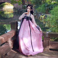 Women Hanfu Chinese Traditional Costume Ancient National Dress Han Dynasty Clothes Folk Festival Outfit Stage Clothing DC1127