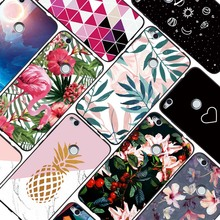 For Huawei Y5 Y6 Y9 2018 Y5 Y6 Prime 2018 Y3 2017 Y5 Lite 2017 Enjoy 7 8 Plus 7S 6S Luxury Flamingo Pineapple Leaves Case Cover