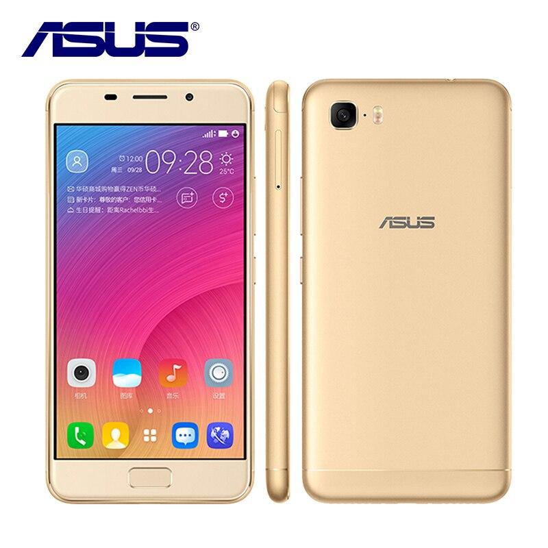Nouveau asus Zenfone Peg asus 3 s ZC521TL Octa Core 3 gb RAM 32 gb ROM 5000 mah 5.2 pouce android 7.0 D'empreintes Digitales 13MP 4g LTE Mobile téléphone