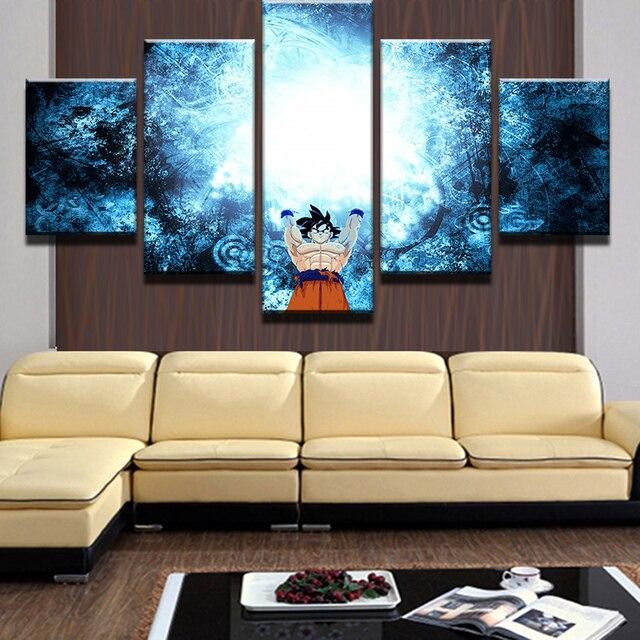 Dragon Ball Z Goku Modular Wall Art