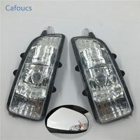 Cafoucs Rear View Mirror Lamp Indicator Lens Turn Signal Light Rearview Side Lamp For Volvo S40 S60 C70 C30 S80 V40 V50 V70