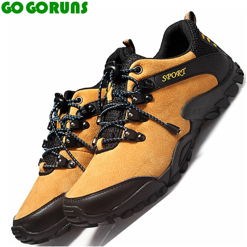 new hot sell outdoor sport men hiking shoes genuine leathe breathable non slip trekking hiking shoes men sneakers zapatillas 358 bolangdi 2017 new anti slip outdoor men hiking shoes high quality trekking camping shoes breathable lace up brand sport sneakers