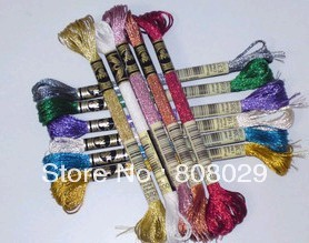 th FREE SHIPPING Genuine DMC Light Effects floss Art 317W cross stitch floss 36 colors