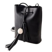 Neue 2016 Damentasche Marke Cross Body Umhängetaschen Frauen Pu-leder Quaste Handtaschen Schulter Kleine Tasche Frauen Messenger taschen