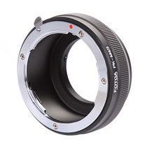 Lente fotga adaptador anel para pentax pk montagem lente para panasonic olympus m4/3 g7 gh4 OM D em10 em5