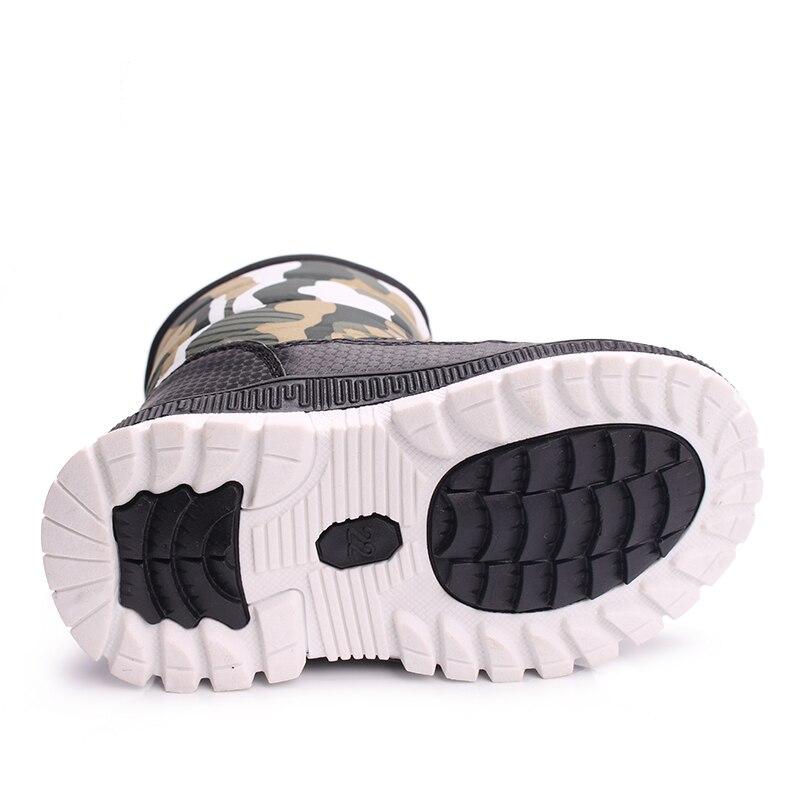 SKHEK Girls Boy Boots Para Niños Botas de Nieve de Invierno Cálido - Zapatos de niños - foto 5