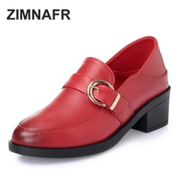 Leather Soft Bottom Sets Of Foot Shoes Casual Shoes First Layer Of Leather With Thick Round