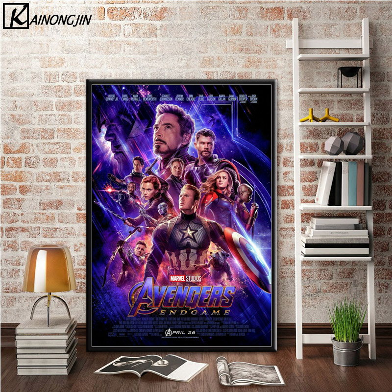 Posters And Prints Avengers 4 EndGame Hot 2019 Marvel