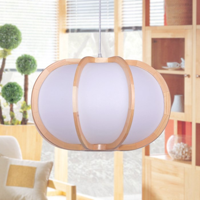 Подвесной светильник из цельного дерева, японский и тыквенный подвесной светильник, фонарь для ресторана LU623 ZL470