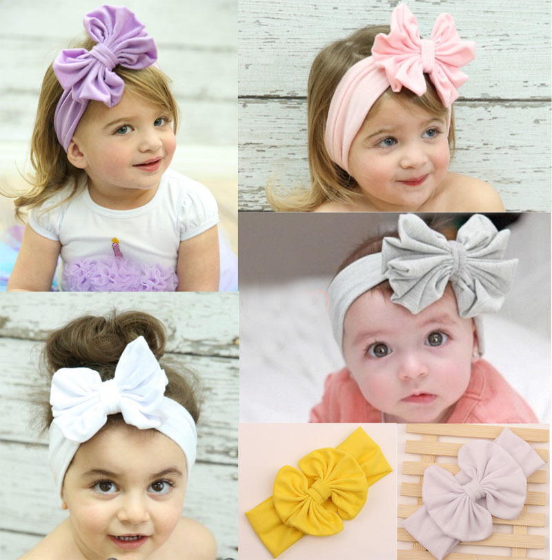new products 12cm big cotton bow headwrap stretch bow new products 12cm big cotton bow headwrap stretch bow