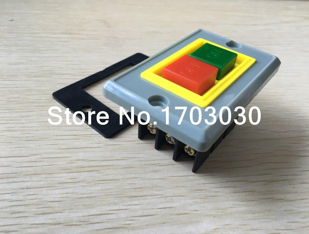 ≧2pcs QKS2-5 On/Off Self Locking Push Button Switch 3 Phase 3P 380V ...