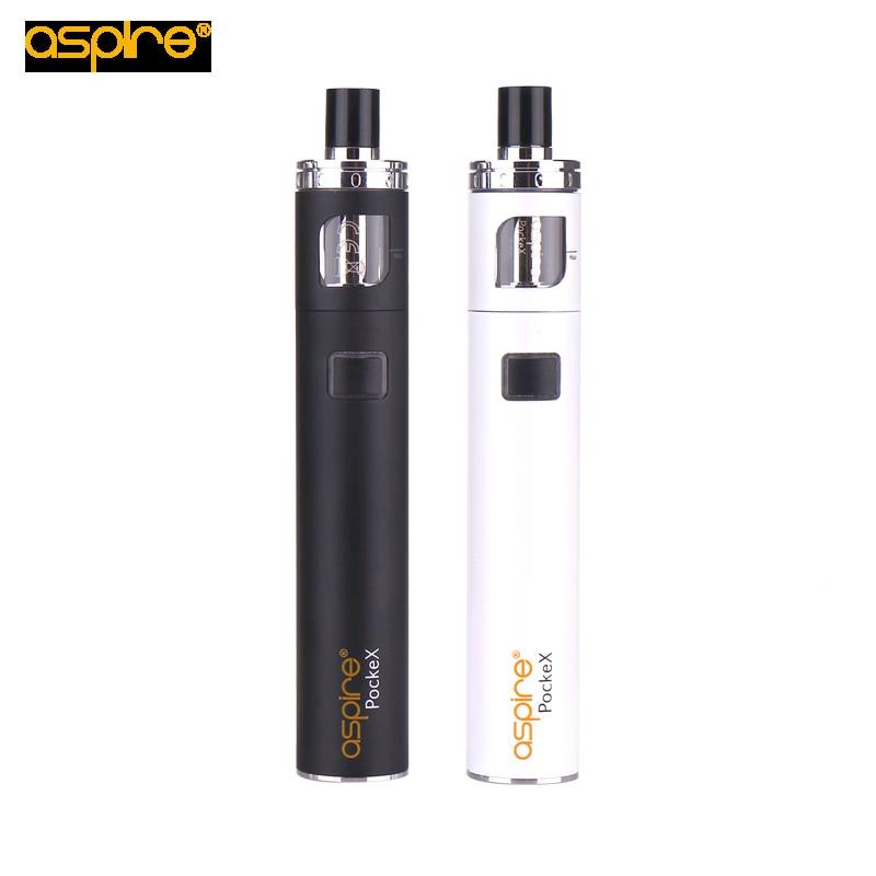 Kit de bolsillo Aspire PockeX con batería de 1500 mah Cabeza de - Cigarrillos electrónicos