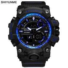 New S Shock Men Sports Watches Big Dial Quartz Digital Watch For Men Luxury Brand LED Military Waterproof Men Wristwatches