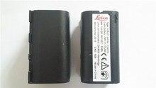 1 unids de calidad superior nuevo para leica geb221 encuesta instrumento baterías 7.4 v batería recargable de li-ion gps envío gratis
