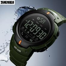 Pedometer Wristwatches SKMEI Digital Bluetooth Sports Men's Fashion Zegarek Remote-Camera