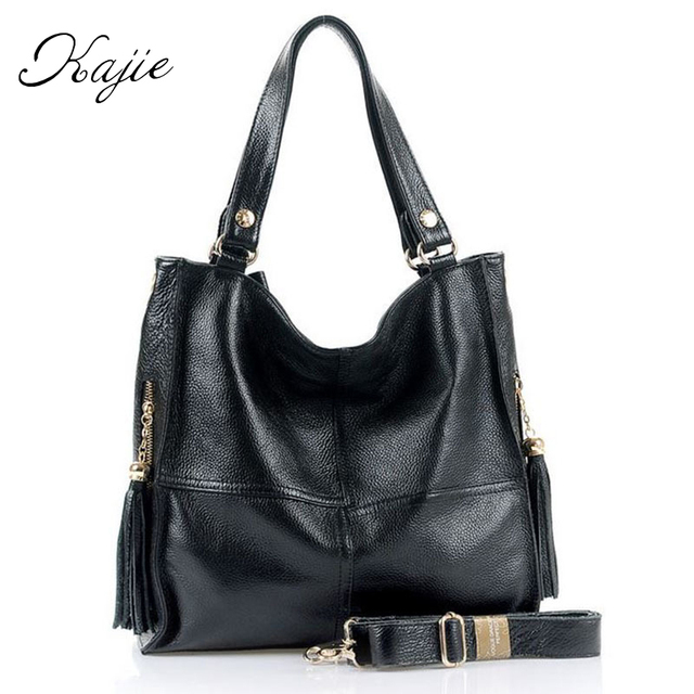 24b2ede4371 Special Offers Kajie New Genuine Leather Women's Tote Cowhide ...