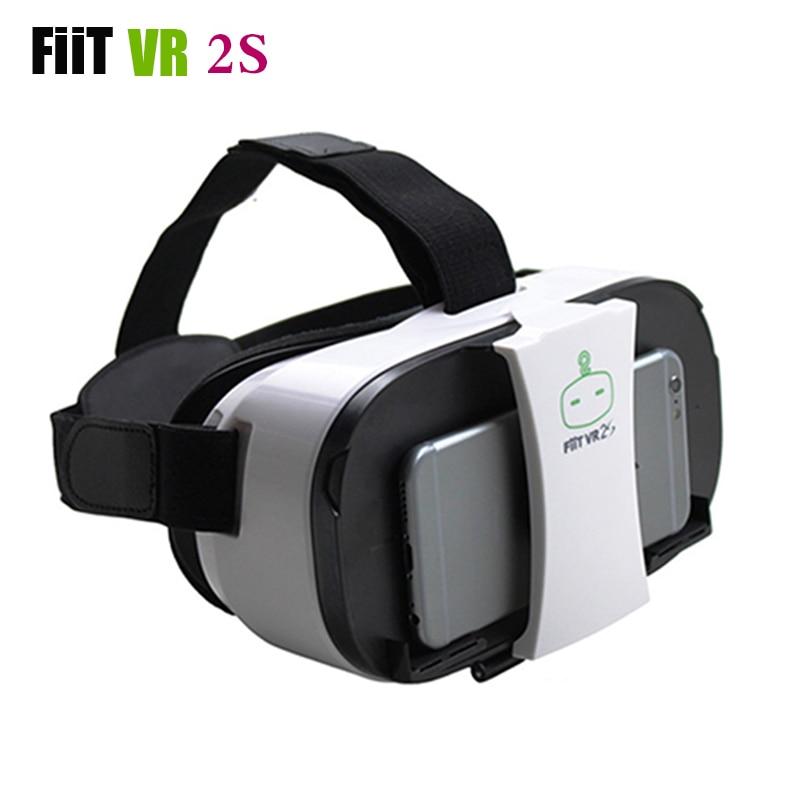 "Fiit 2S <font><b>VR</b></font> <font><b>Glasses</b></font> Immersive 102 FOV Virtual Reality 3D Cardboard Head-mounted <font><b>VR</b></font> <font><b>Headset</b></font> Box <font><b>for</b></font> 4.0-6.5"" Phone 3D <font><b>Movie</b></font> <font><b>Game</b></font>"
