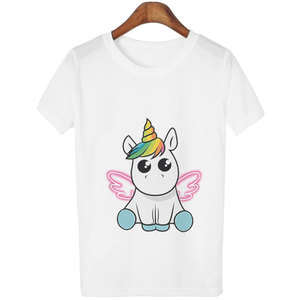 Fashion Cute Unicorn T Shirt W