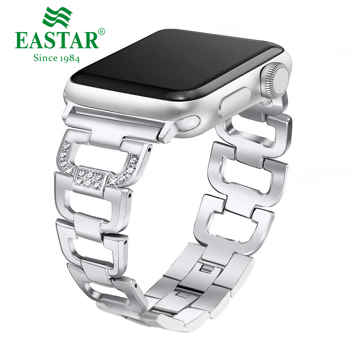 Woman Watch Band For Apple Watch Bands 38mm 42mm 40mm 44mm Diamond Aluminum Alloy Strap For Iwatch Series 5 4 3 2 1 Bracelet