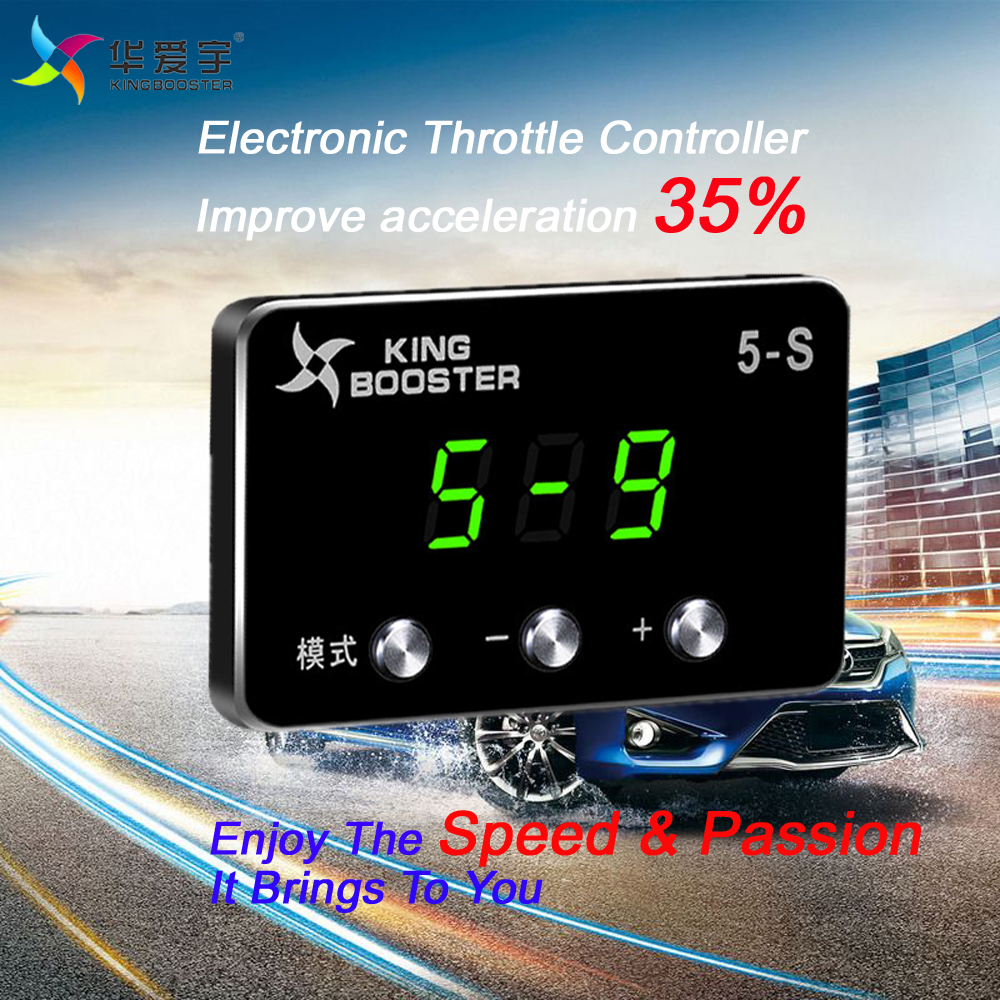 Car speed accelerator wind Sprint Booster LED digital Electronic Throttle Controller For MAZDA MPV 2006.2+ car sprint strong pedal booster electronic throttle controller for toyota corolla ex cammie es300 sc430 circle section 2004