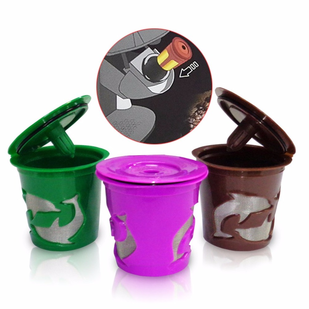 Eco-Friendly Coffee Filter Cup Reusable Convenient Filter Bottle With Cup Cover For Coffee Maker Coffee Machine Easy To Wash inflatable coffee cup for advertisement