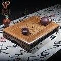 The mixed batch of bamboo tea tray tea accessories gifts logical administration and harmonious people Kung Fu tea set custom LOG