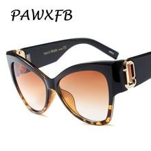 Pop Age New Brand Designer Cat Eye Sunglasses Women Men Retro Oversized Plastic Leopard Ladies Male Sun glasses Oculos de sol