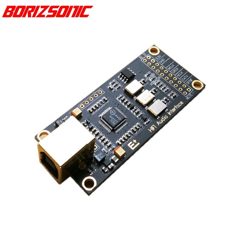 Usb Digital Interface SA9227 Usb To I2s For Dac Ak4497 Es9038q2m 9038pro Free Shipping