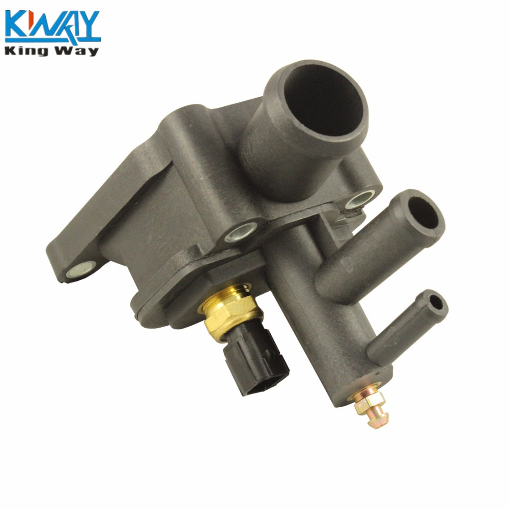 FREE SHIPPING King Way Thermostat Housing/Water Outlet Engine Coolant Air  Bleeder For CHRYSLER DODGE 4792630AA-in Thermostats & Parts from  Automobiles ...