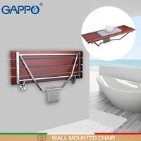 GAPPO настенный душ сиденье складной верстак для ребенка туалет складные Душ стулья Ванна стул Cadeira стул ванны
