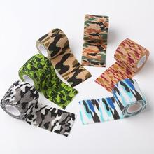 Self-adhesive Non-woven Camouflage WRAP RIFLE GUN Hunting Camo Tape(China)