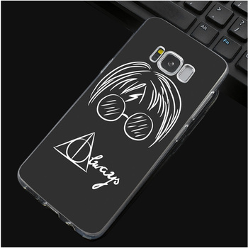 Harry Potter Phone Case for Samsung S Series Always with Harry Drawing  7