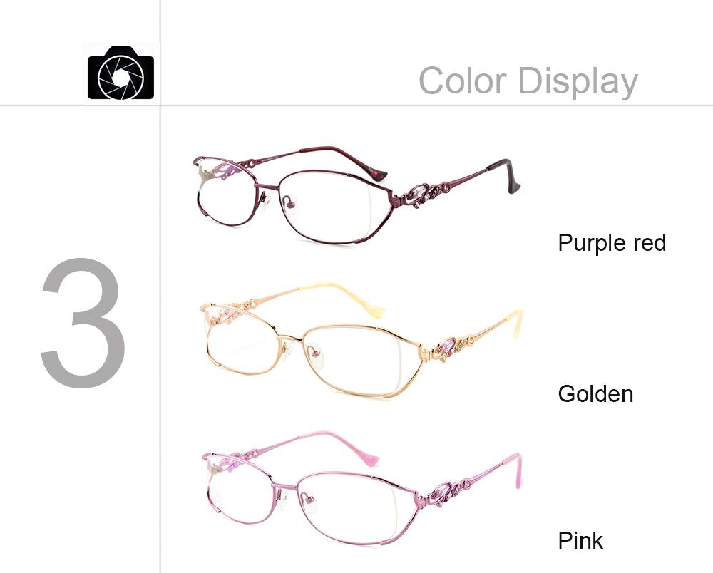 38c237a3bc 2019 Luxury Quality Rhinestone Prescription Eyeglasses Frames For ...