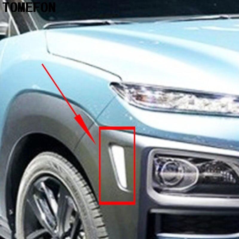 Tomefon For Hyundai Kona Encino 2018 2019 Abs Chrome Front