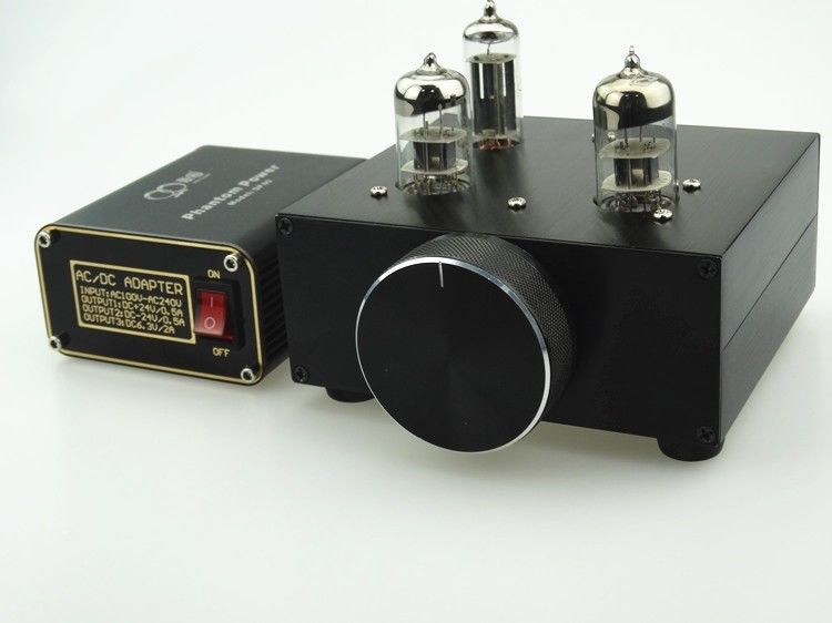preamp Buffer 6N3 5670 TUBE Pre amp HIFI Audio TUBE Preamplifier +Power Supply