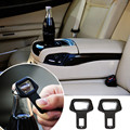 1PC Car safety belt clip Car Seat belt buckle Vehicle-mounted Bottle Openers Levert Dropship
