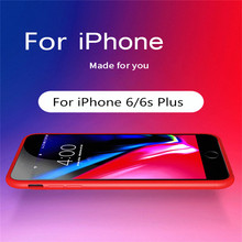 ZKFYS 5000mAh Portable Power Bank Case With audio For iPhone 6 6s Plus Battery Charger Charging Cover