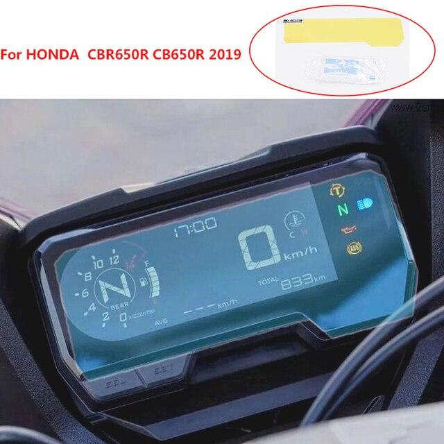 CBR650R CB650R 2019 new moto Cluster Scratch Protection Film Instrument Dashboard Cover Guard TPU Blu-ray For HONDA CBR650R