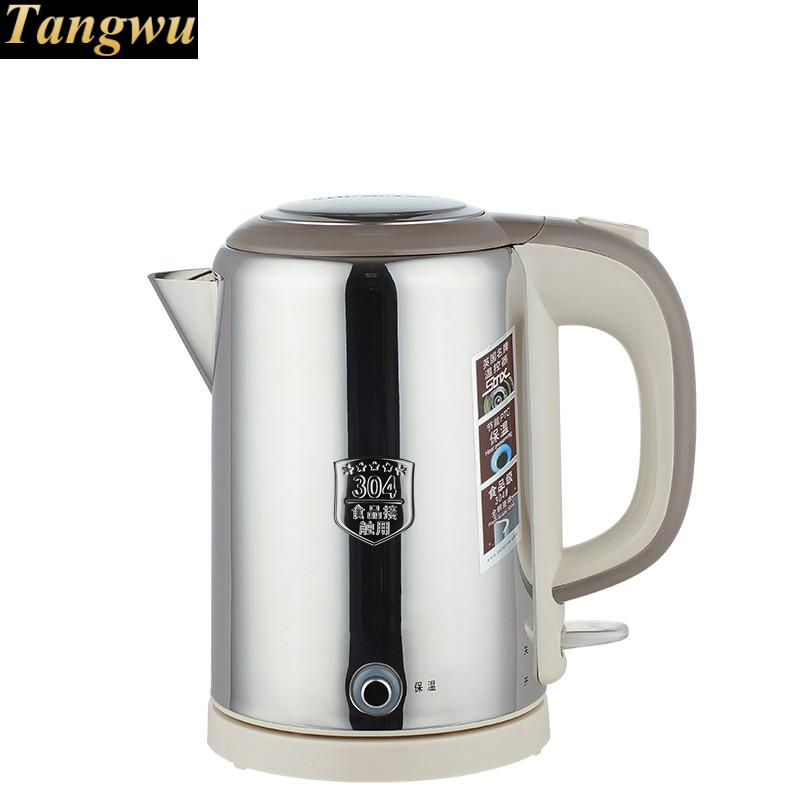 Food grade 304 stainless steel all-steel electric kettle thermoelectric