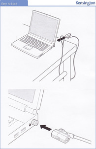 Image 5 - Kensington antifurto Originale ClickSafe Con Chiave Del Computer Portatile Ultrabook Serratura con 1.5 m Cavo Di Sicurezza Catena con Limballaggio Al Dettaglio K64664