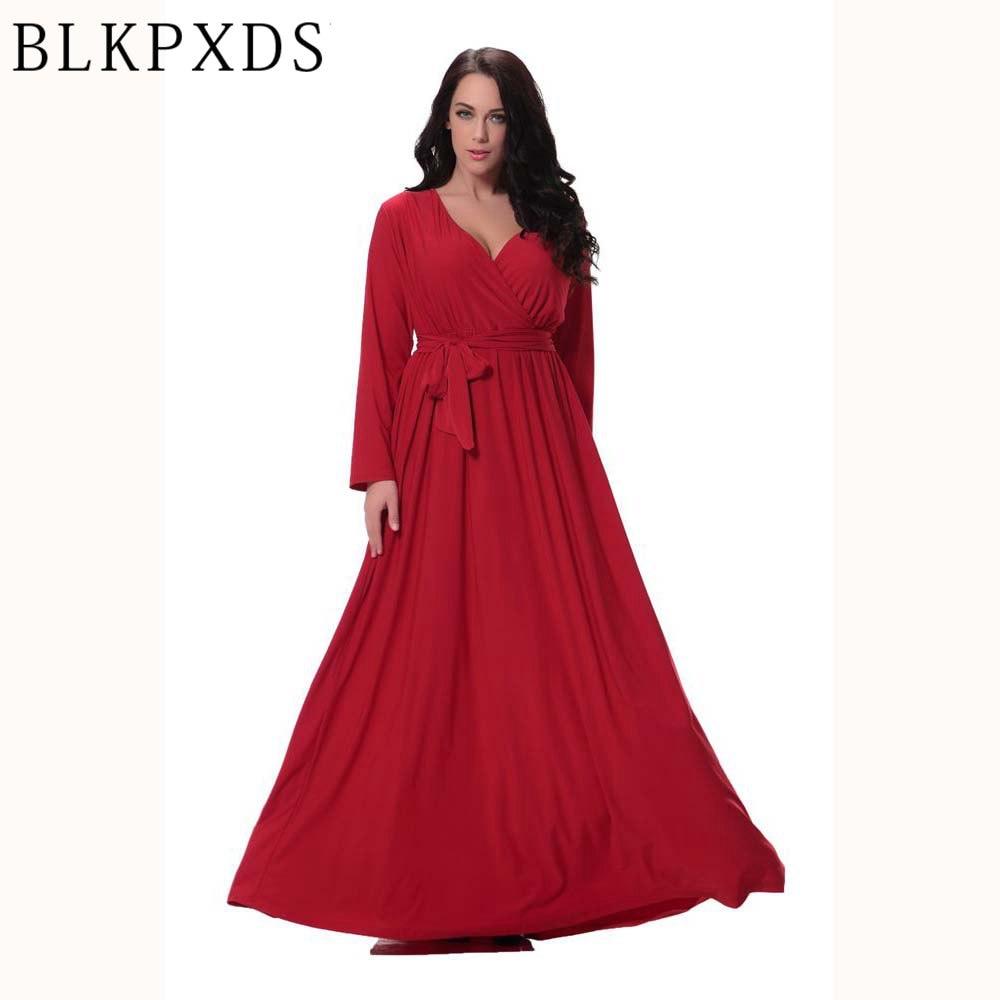 Aliexpress.com : Buy Wholesale Red V Neck Long Sleeve Sexy