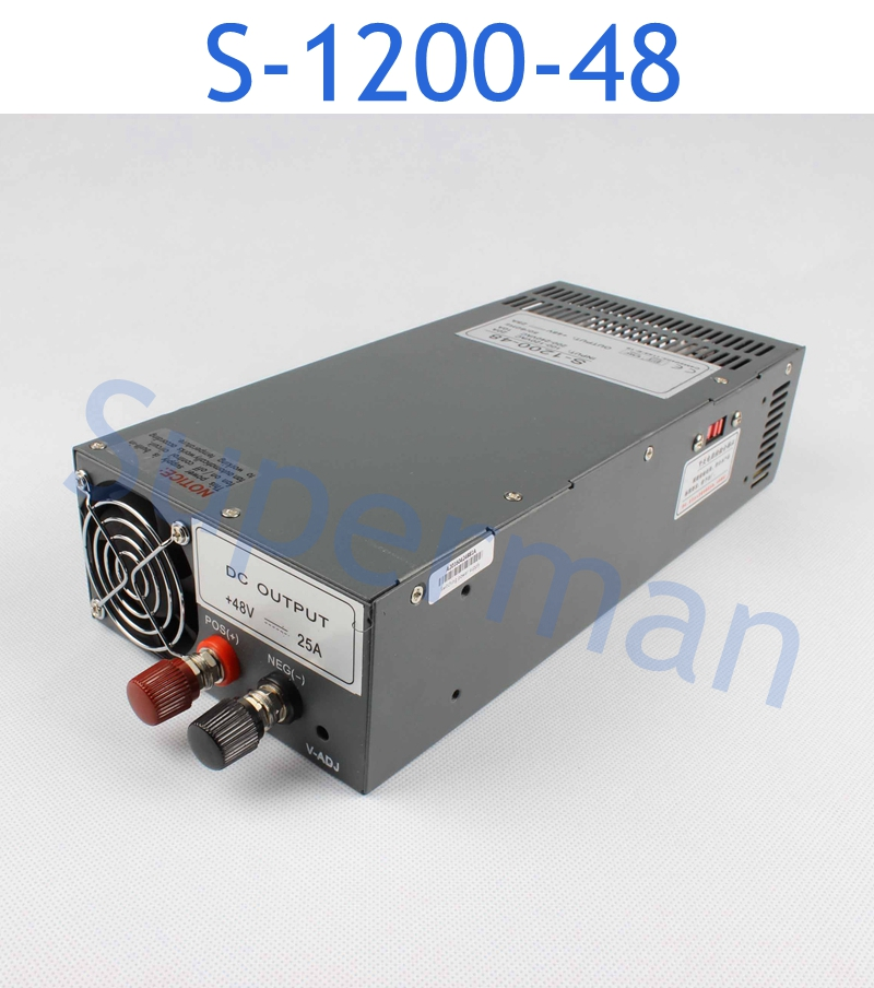 1200W 48V 25A Switching power ss