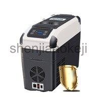 Холодильники морозильные камеры автомобильный компрессор холодильник 12 В автомобиль двойного назначения большой емкости Холодильный ком
